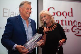 Derry & Sallyanne receive the Hall of Fame Award 2019