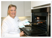 Derry Clarke cooking