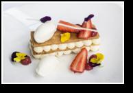 Mille-Feuille, Gariguette Strawberries, Vanilla Ice Cream