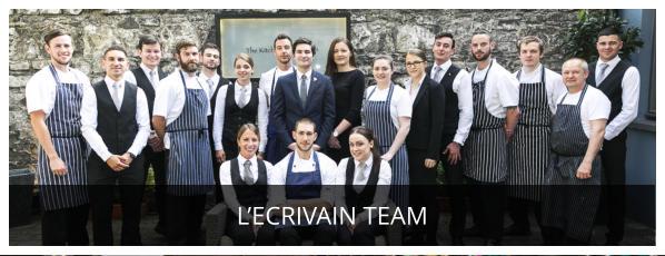 The Team at l'Ecrivain